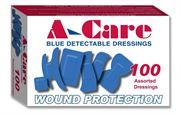 Assorted Blue Plasters, 6 Sizes