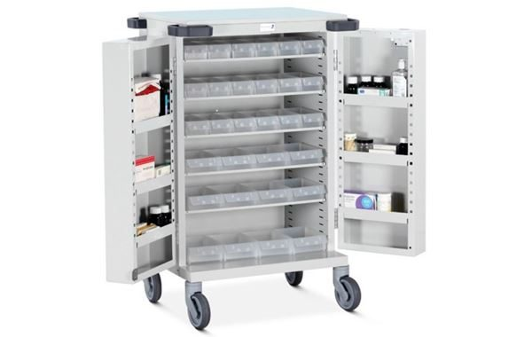 Unit Dosage Trolley with 30 Trays