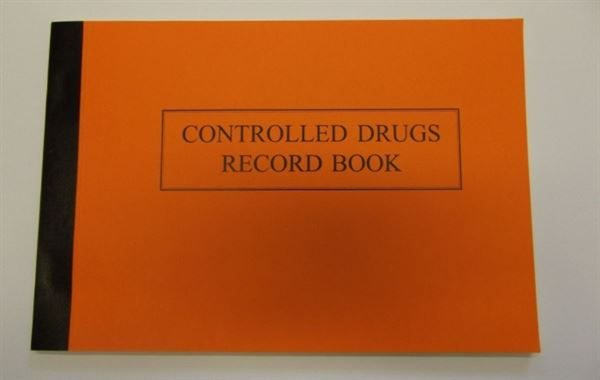 Controlled Drugs Record Book