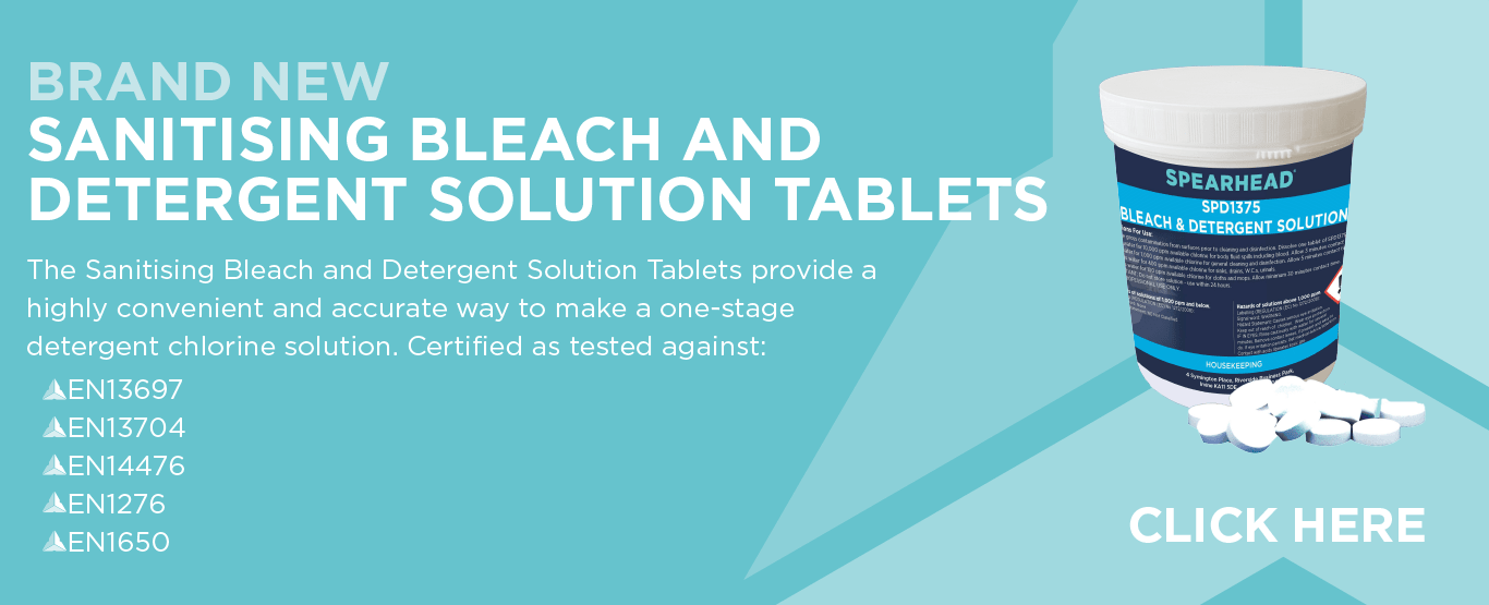 Sanitising Bleach Tablets with Detergent