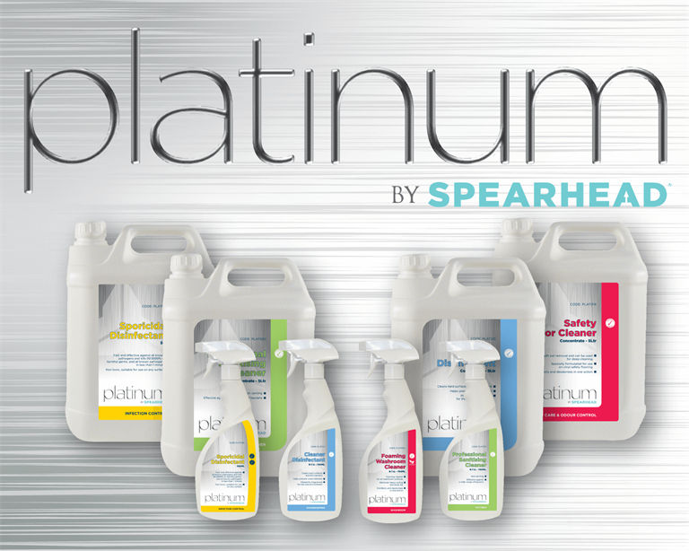 The Platinum plan, care home cleaning chemicals