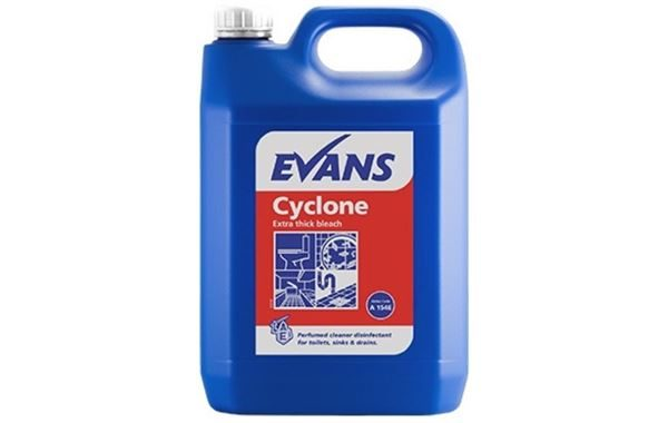 Cyclone Extra Thick Bleach, 5 Litre