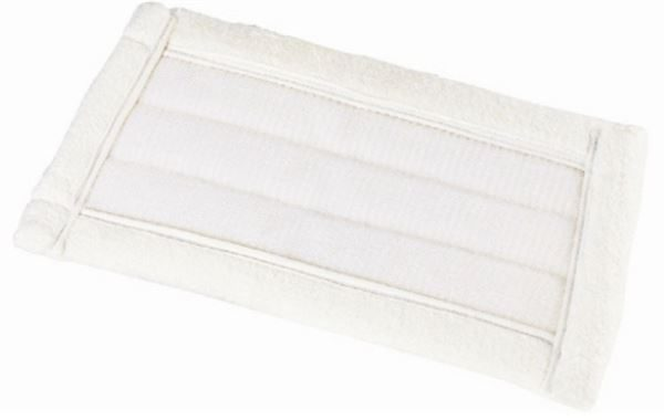 Replacement Microfibre Flat Mop Head, Washable