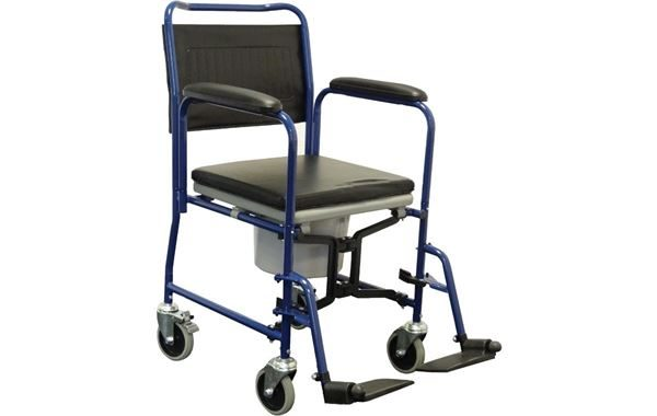 Alerta Mobile Commode & Transfer Chair