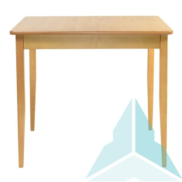 900mm HPL Square Dining Table in Oak