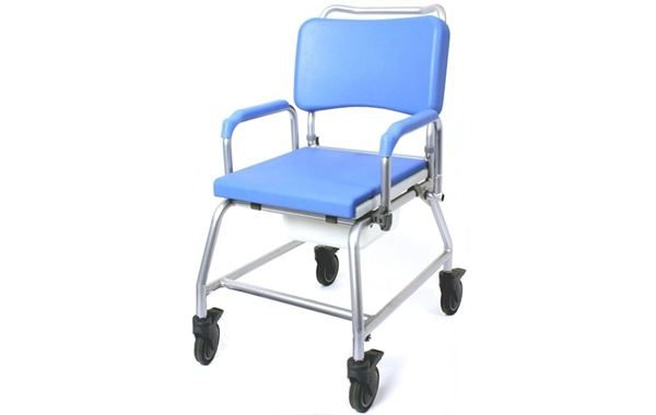 """Atlantic Commode Shower Chair 22"""" Wide"""