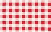 PVC Tablecloth, Red Check, Various Sizes