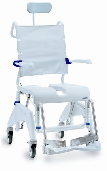Ocean tilt-in-space shower commode chair from Spearhead Healthcare
