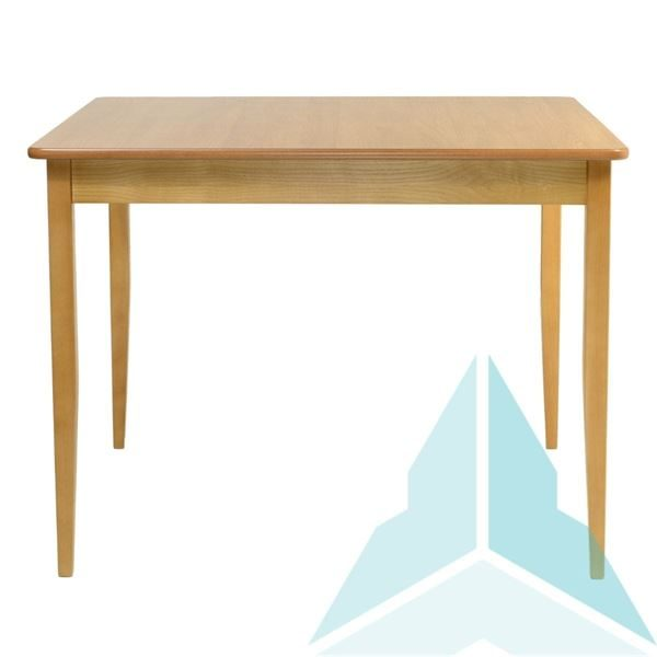 1050mm HPL Square Dining Table in Oak