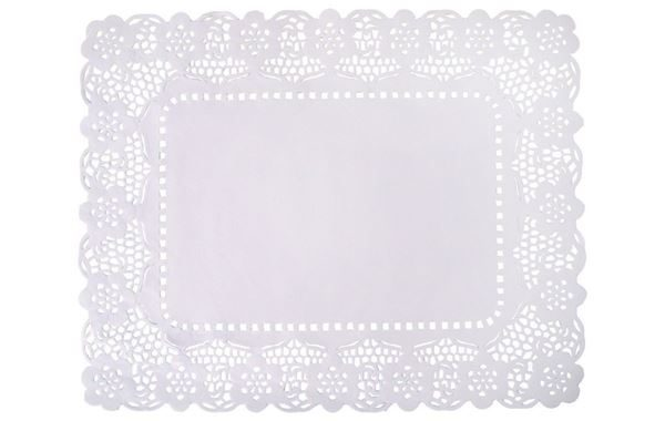 Disposable Lace Tray Covers, 30cm x 40cm
