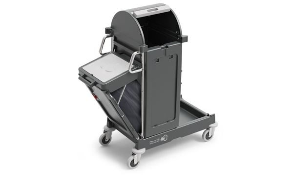 Locking Cleaners Trolley