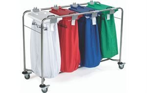 Laundry Trolleys, Carts & Bags