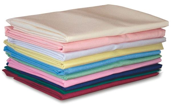 Polycotton Double Fitted Sheet, Various Colours