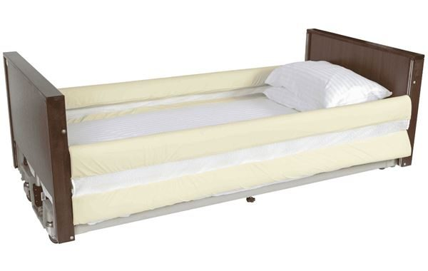 Alerta 2 Bar Bed Rail Bumpers with Netting, 20cm Extended Version