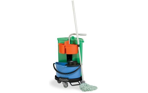 Mopping Carousel Cleaners Trolley
